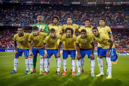 ĐT Brazil đặt quyết tâm cao vô địch World Cup trên sân nhà