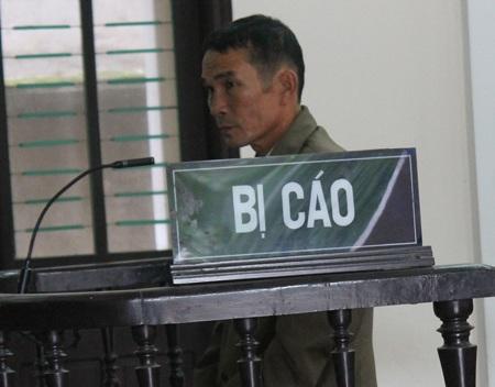 Ông Nguyễn Văn Vinh tại phiên tòa phúc thẩm diễn ra vào ngày 12/11.