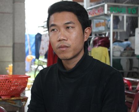 Anh Nguyễn Hồng Hiệp trình bày với PV.