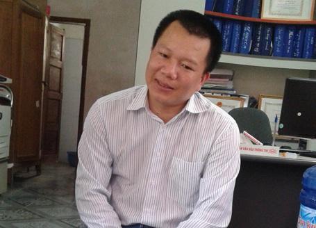 Trường THPT Nguyễn Trường Tộ (TP Vinh, Nghệ An) - nơi xảy ra sự việc.