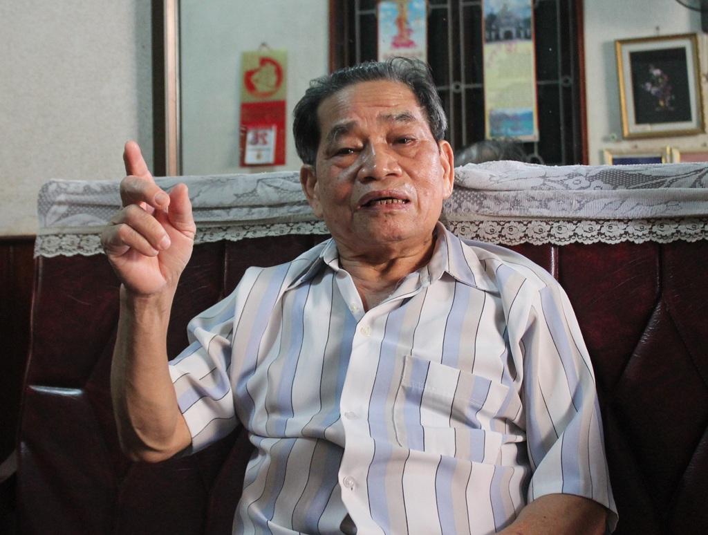 Anh hùng lực lượng vũ trang nhân dân Nguyễn Đình Kiệp.