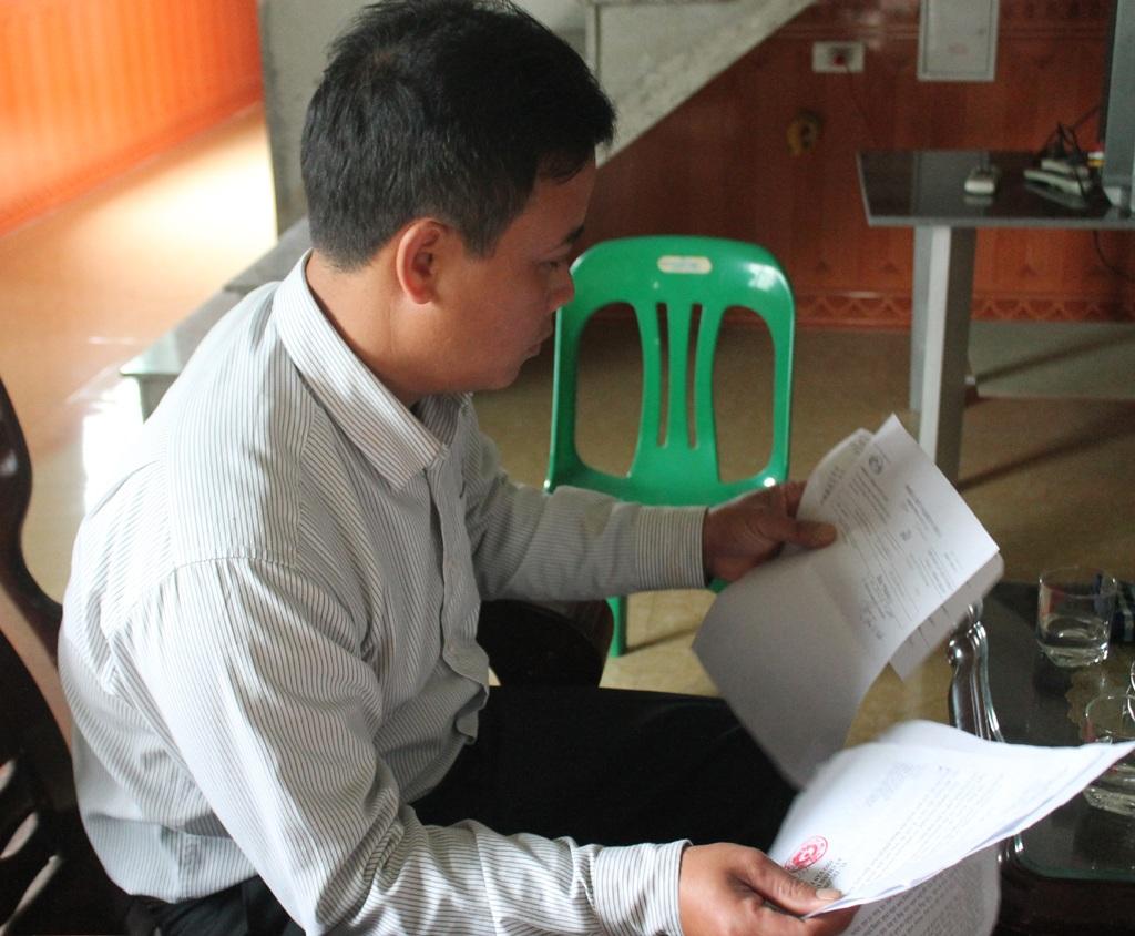 Anh Hoàng Khắc Sửu đang hoàn tất hồ sơ gửi Bộ Công an yêu cầu làm rõ sự việc.