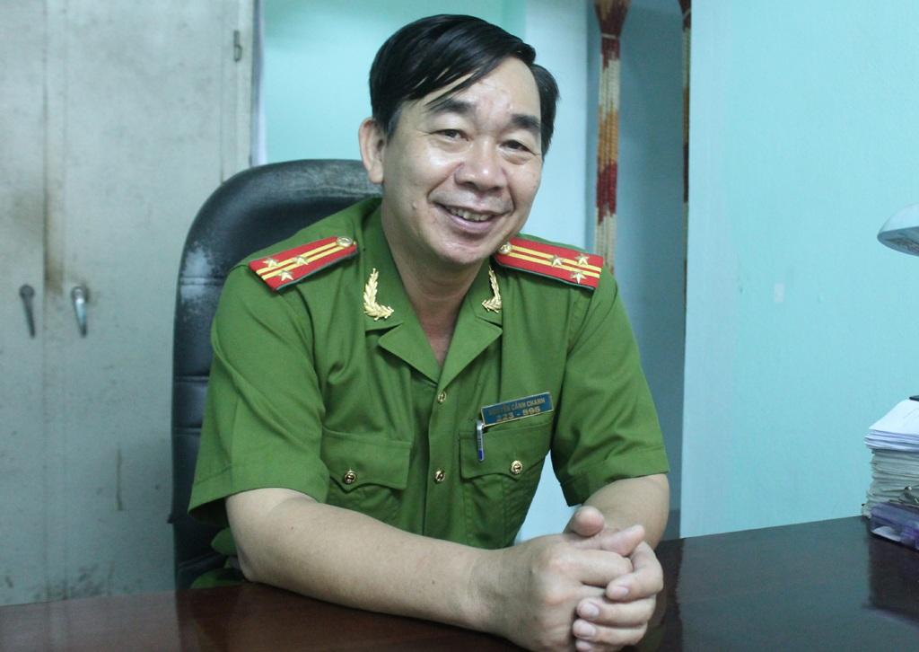 Thượng tá Nguyễn Cảnh Chanh - Phụ trách lực lượng cảnh sát 113 Nghệ An kể lại vụ án.