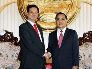 Việt-Lào ưu tiên cho củng cố quan hệ hữu nghị  - 1