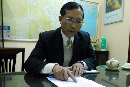 Ông Trương Quang Bích: Cây sưa trước sân của trạm kiểm lâm số 9 nên coi như của hộ gia đình