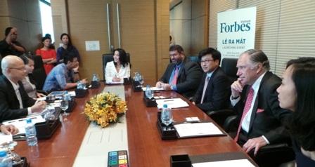 Ra mắt tạp chí Fobers Việt Nam đầu tiên