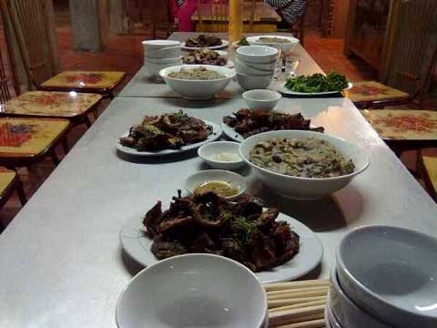 Bữa tiệc sang thường phải có món thịt chuột
