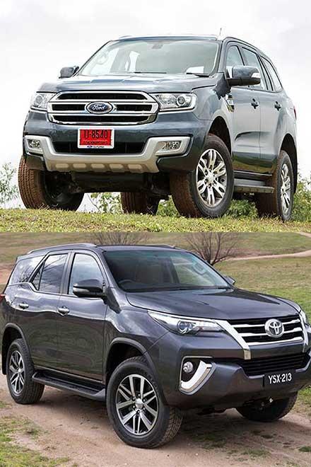 So sánh Ford Everest và Toyota Fortuner thế hệ mới tại Việt Nam - 2