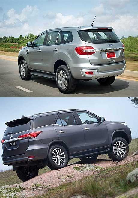 So sánh Ford Everest và Toyota Fortuner thế hệ mới tại Việt Nam - 4