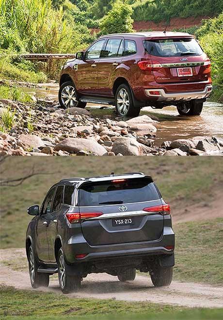 So sánh Ford Everest và Toyota Fortuner thế hệ mới tại Việt Nam - 5