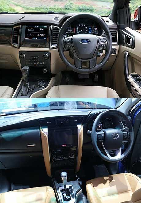 So sánh Ford Everest và Toyota Fortuner thế hệ mới tại Việt Nam - 7