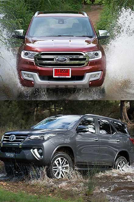 So sánh Ford Everest và Toyota Fortuner thế hệ mới tại Việt Nam - 3