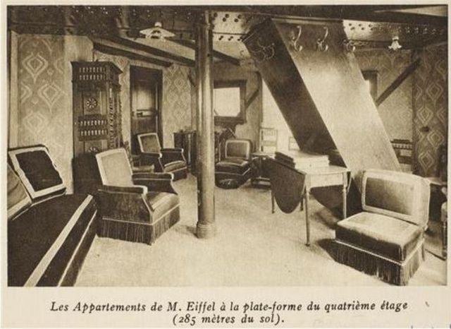 Hé lộ bí mật về căn hộ duy nhất bên trong tháp Eiffel - 3