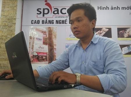 Đinh Đình Nhân, sinh viên Việt Nam đầu tiên đạt được chứng chỉ bảo mật an ninh của Mỹ.
