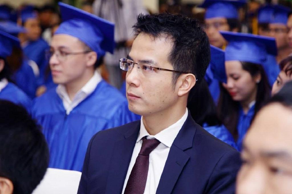 TS Trần Vinh Dự - Chủ tịch Hội đồng quản trị Trường CĐ Nghề Việt Mỹ. (Ảnh: NVCC)