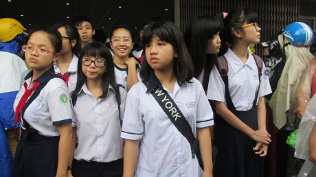 Các thí sinh thi vào hệ lớp 10 thường đã hoàn thành kỳ thi của mình