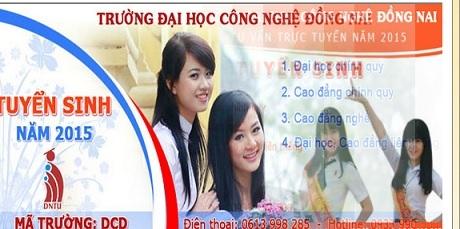 """Trường ĐH Công nghệ Đồng Nai bị Phân viện Miền Nam """"mượn danh quảng cáo tuyển sinh."""