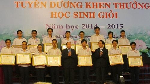Năm 2014-2015, TPHCM có hơn 4.000 học sinh giỏi.
