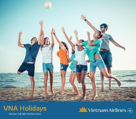 Du lịch thuận tiện hơn với VNA Holidays
