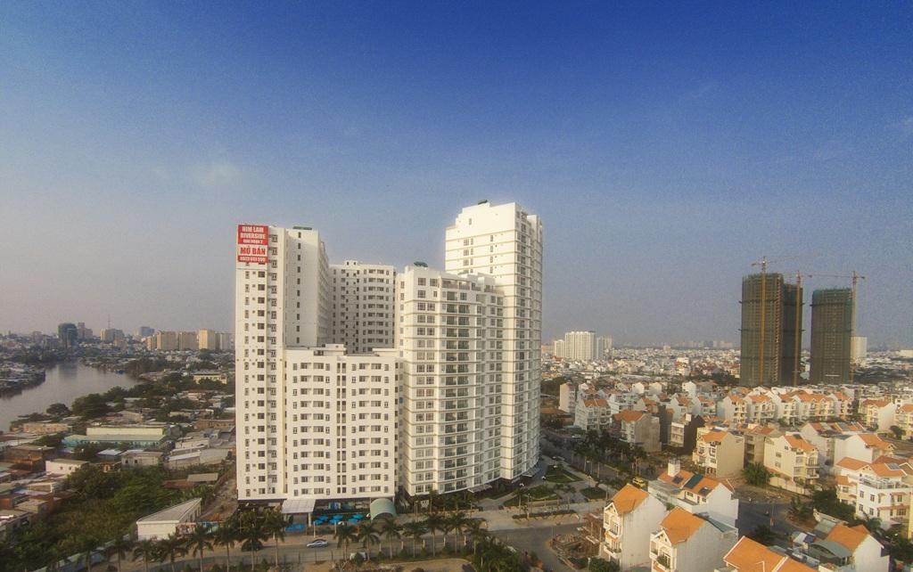 Him Lam Riverside đã xây xong vẫn được trả chậm 4 năm. Dự án dễ mua,