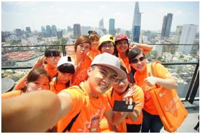 Thử thách selfie trên cao giúp bạn đối diện với nỗi sợ độ cao