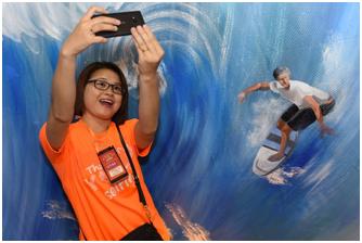 Thoải mái sáng tạo với ảnh selfie cùng Lumia 540