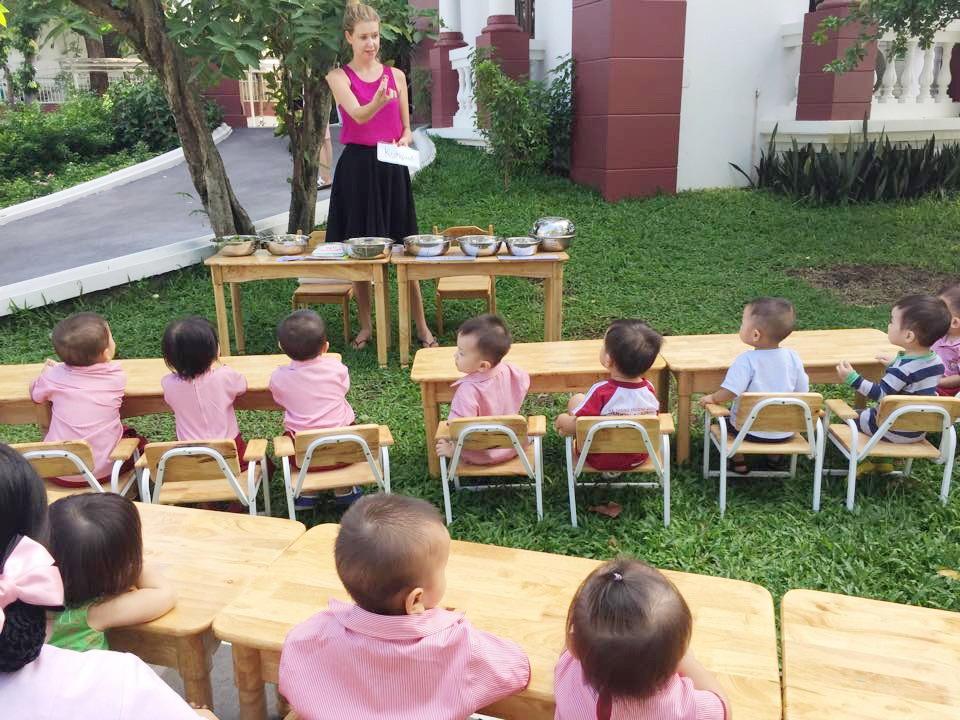 Hè trải nghiệm của những mầm non Saigon Academy
