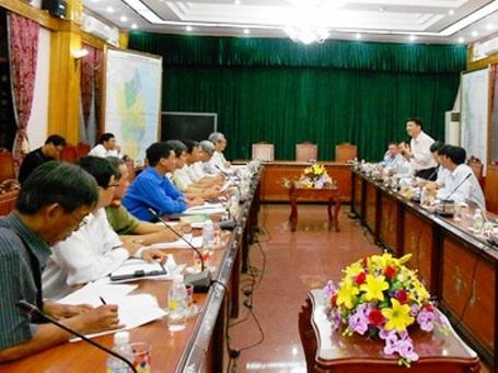 Bộ GD-ĐT kiểm tra công tác chuẩn bị thi tại Bình Định