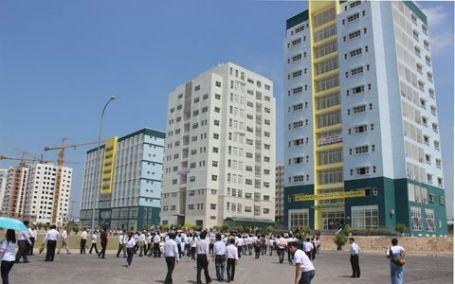 Với tổng diện tích được xây dựng 59hecta bao gồm khu A hiện hữu, khu A mở rộng và khu B.