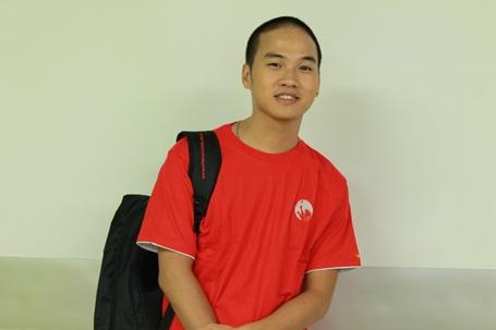 Sinh viên Nguyễn Chí Thanh.