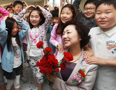 Giáo viên tiểu học là nghề trong mơ của bạn trẻ Hàn Quốc