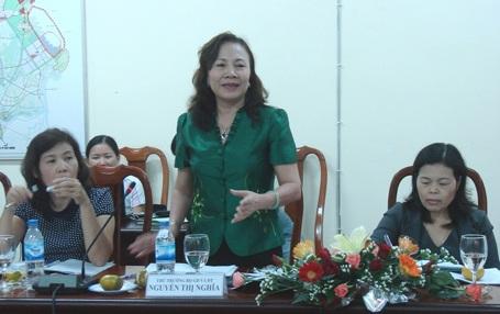 Thứ trưởng Bộ GD-ĐT, TS Nguyễn Thị Nghĩa (