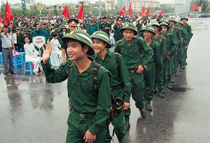 Đi Nghĩa vụ quân sự là thực hiện tốt nghĩa vụ thiêng liêng của công dân với Tổ quốc.