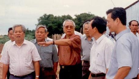 Năm 1996, cố Thủ tướng Võ Văn Kiệt (