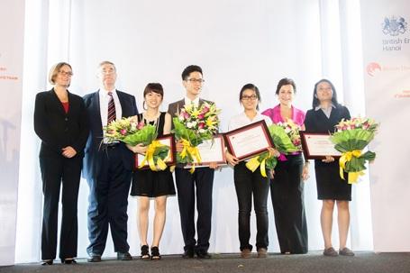Lễ trao giải Học bổng Hoàng tử Andrewvà 2012