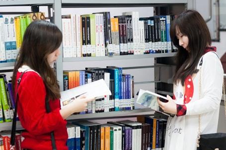 Thư viện sách dành cho sinh viên tại BUV