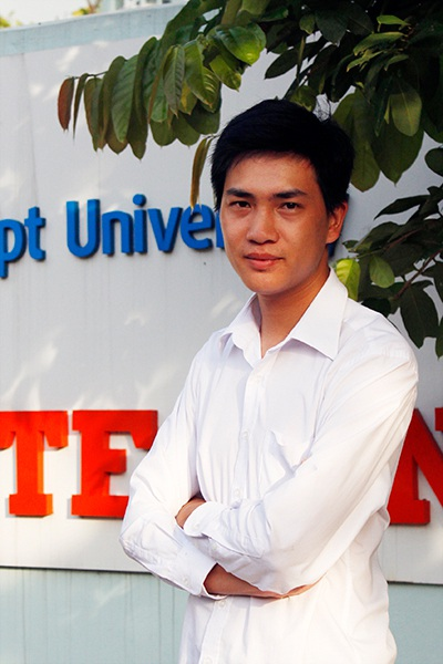 Tạ Văn Tới - cựu sinh viên lớp PT06103, chuyên nghành Thiết kế website của FPT Polytechnic Hà Nội.