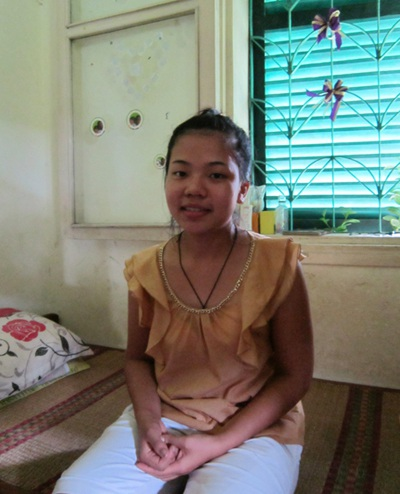 Lan ước mơ thành cô giáo đểdạycác em trong làng SOS.