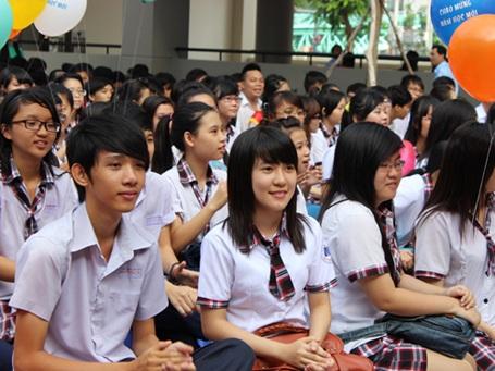 TPHCM có 1.388.045 học sinh từ mầm non đến THPT trong năm học 2013 - 2014