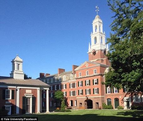 ĐH Yale - nơi George Huynh sẽ được theo học.