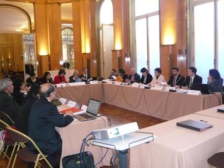 Họp Ủy Ban Định Hướng CFVG 2013 tại Paris, Pháp.