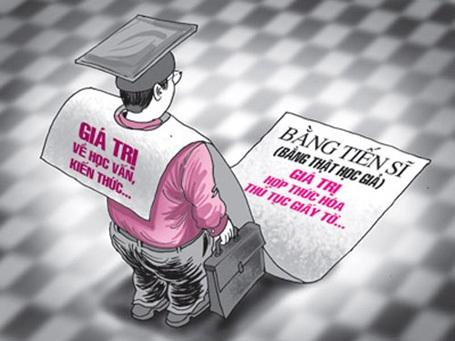 Đào tạo 20.000 tiến sĩ để nâng cao chất lượng giáo dục. (Ảnh: minh họa)