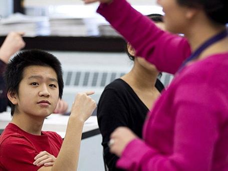 Rạng danh học sinh gốc Việt