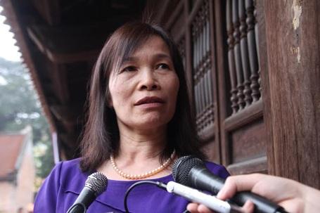 Cô Hoàng Thị Đặng - giáo viên Sử Trường THPT Vùng cao Việt Bắc.