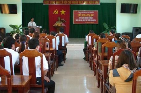 Quảng Ngãi: Lần đầu tiên thi tuyển chức danh hiệu trưởng, hiệu phó
