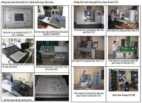 Khoa Điện - Cơ điện tử Đại học Phương Đông tuyển sinh năm 2014