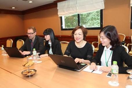 """Quang cảnh buổi tư vấn: """"Đổi mới cách dạy và học nhằm nâng cao năng lực học tập của học sinh"""""""