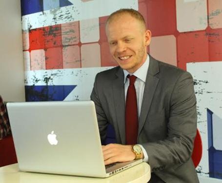 Ông Chris Jeffery - Giám đốc học vụ Đại học Anh Quốc Việt Nam BUV.