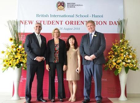 Trường Quốc tế British International School chính thức tuyển sinh năm học 2014-2015 tại Hà Nội