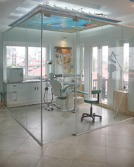 Phòng điều trị chuyên biệt với những thiết bị hiện đại